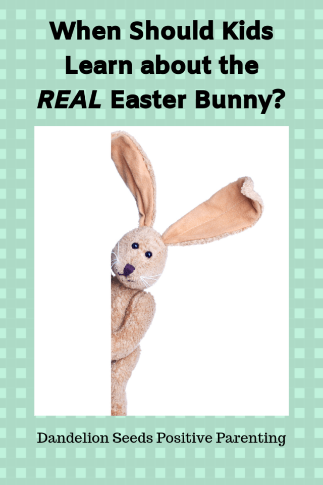 should you tell kids about the Easter bunny