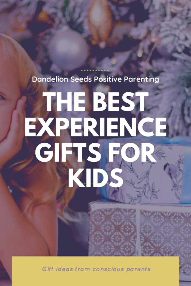 experience gifts for kids