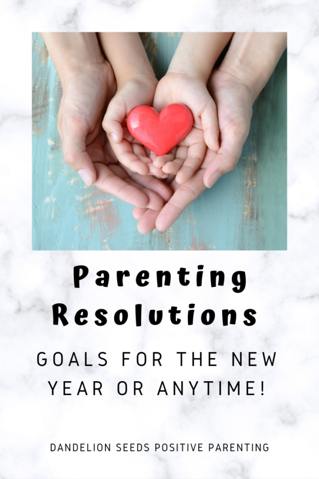 new years resolutions parenting