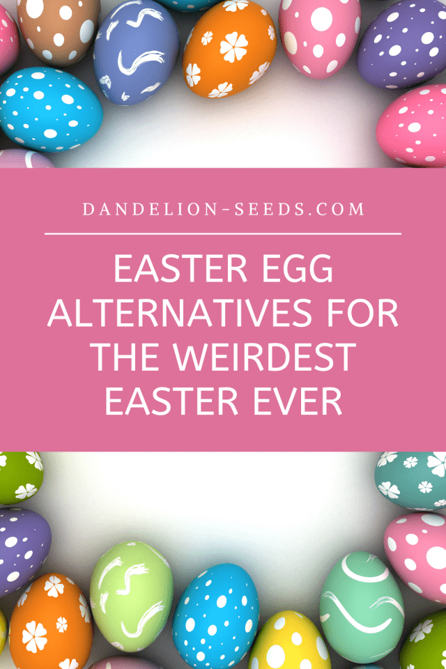 easter egg alternatives