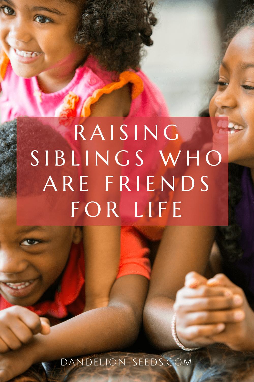 peaceful siblings